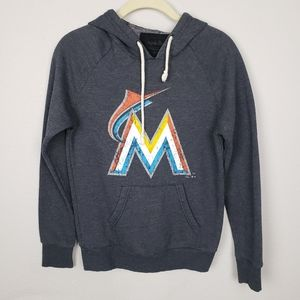 Majestic Threads Miami Marlins hoodie S